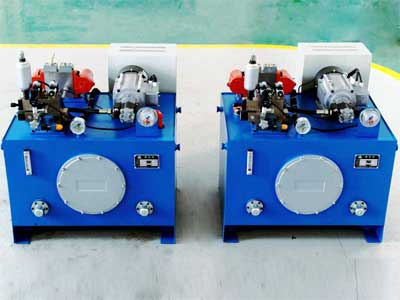 Hydraulic Station with Frequency Conversion