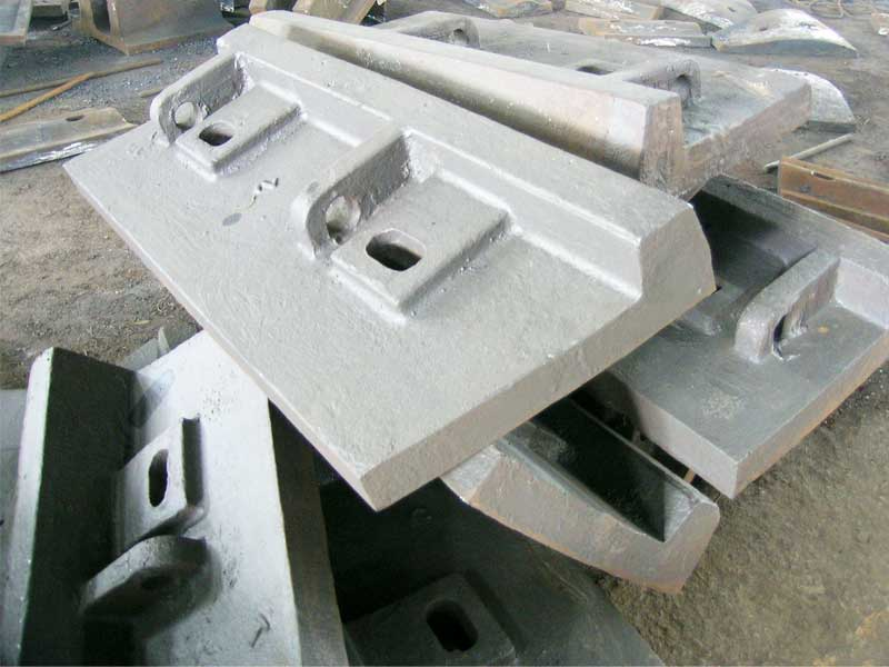 Large Semi-Autogenous Mill Shell Lining Plate